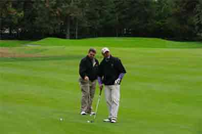 Practice your short game